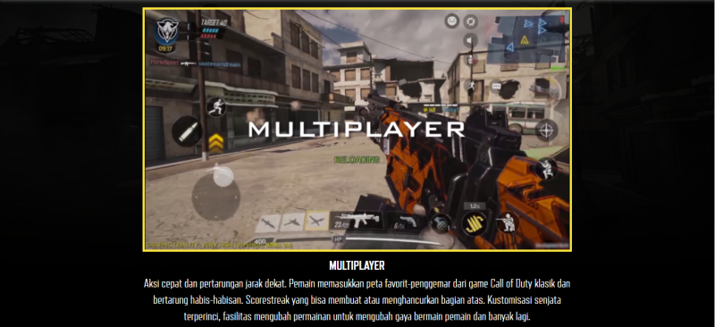 multiplayer call of duty mobile